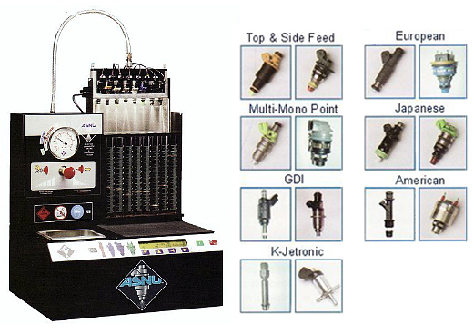 Gasoline Injector Services and ASNU tester